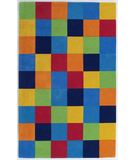 RugStudio presents KAS Kidding Around Boys 416 Color Blocks Hand-Tufted, Good Quality Area Rug